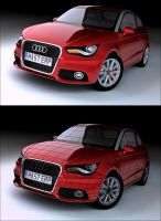 The Audi A1 by Tom-3D