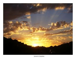 Sunset in Suburbia by eddy4fizzle