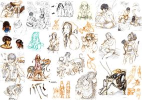 .:: Sketchdump Little People 5 ::. by Maiwenn