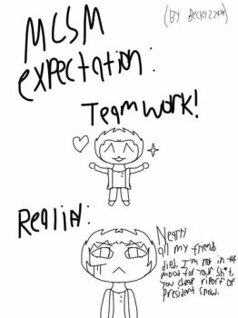 Expectation vs. Reality by Becky22404