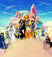 The few, The proud, The Olympus Guardians by SailorTrekkie92