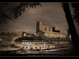 cement factory III by NiloDirf