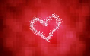 Heart Red Wall by FTN1