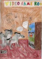 The Hyenas play Duck Hunt by daisyplayer1
