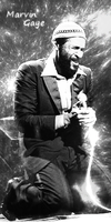 Marvin Gaye sig by Candido1225
