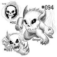 PKMN-A-DAY: Ghosts by the-b3ing
