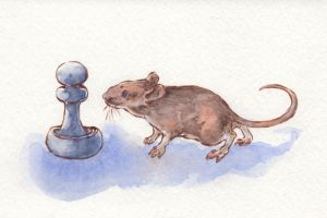 Mouse and Pawn by teriathanin