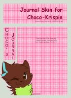 .: Choco-Krispie Journal Skin :. by C-H-O-C-O-C-A-T