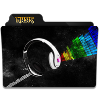 Music Folder Icon by gterritory