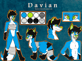Davian Reference Sheet by Rainbow-Moose