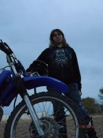 Me and dirty bike by FogandDreams