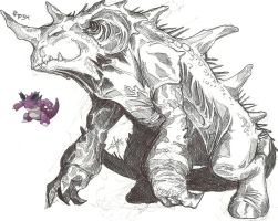 Nidoking by spydermann