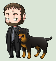 SPN Dogs #04 by NessaSan