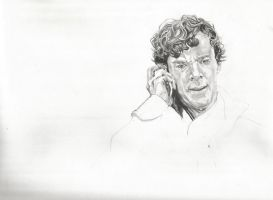 Sherlock's ''Death'' WIP  2 by michaelmdw