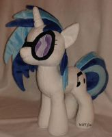 19,5 inches Vinyl Scratch by MLPT-fan