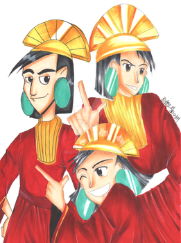 DISNEY: Kuzco by Beverii