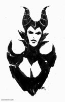 Maleficent by aaronminier
