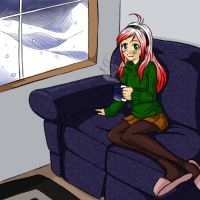 Early Snow fin by Miha-Hime