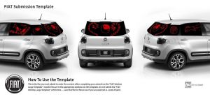 Asian style Fiat 500 by Emily-Young