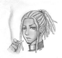 dreadlocks clergyman by zero081090
