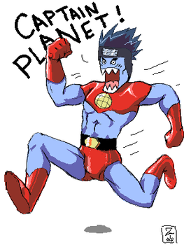 CAPTAIN PLANET-- by The-Z