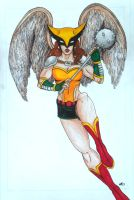 Hawkgirl Redesign by Medusa1893