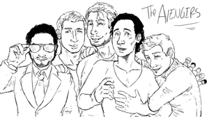 AVENGERS cast by LadyNorthstar
