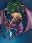 Darkstalkers: Morrigan Pin-up by ahnline