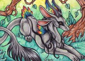 ACEO Trade: Tangent by Agaave