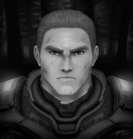 JD From Gears Of War 4 by MyFantasiWorld