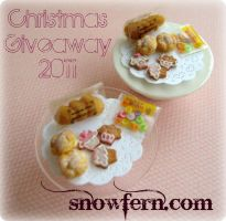 Christmas Giveaway 2011 by Snowfern