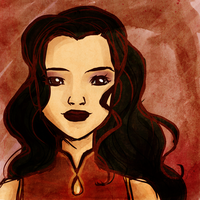Asami in the Red by tetragona