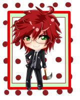 Request for NatyKaramia: Young Grell Chibi by XxPhantomRiderxX