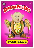 GPK sticker Taco Bell by kitster29