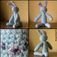 76. Blue - Rabbit by MoogleyMog