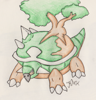 Torterra by Shabou