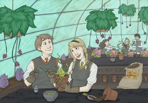 Herbology Help by Svenly