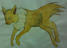 Watercolor Jolteon by zarhx