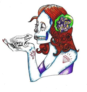 day of the dead girl by Kreld