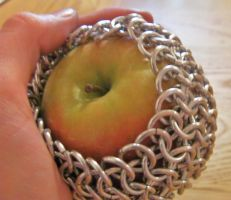 Armoured Apple by cunningcatcrafts