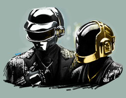 One of the first results if you google Daft Punk by Naikoworld
