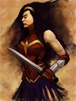 Wonder Woman 2013 by brianlaborada