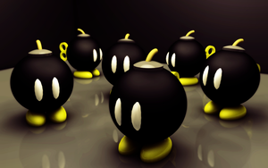 Bob-ombs by Anthrax817