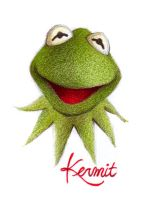 kermit the frog by porcelanita