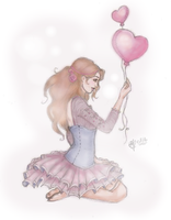 Sweet heart by Songes-et-crayons