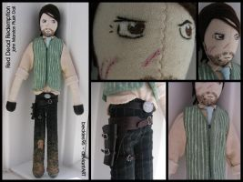 RDR: John Marston Plush Doll by StitchedAlchemy