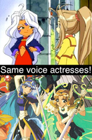 Same voice actresses 15 by GokuandSonic707