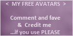 My free avatars - rules of use 2 by Erozja