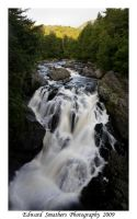 Falls at Wilmington Notch Camp by esphotoz