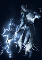 Lightning Mage by mevaa